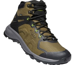 KEEN EXPLORE MID WP-DARK OLIVE