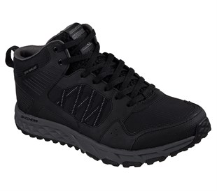 SKECHERS ESCAPE PLAN-SECOND BITE-BLACK CHARCOAL