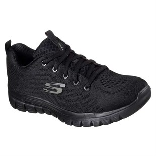 SKECHERS GRACEFUL - GET CONNECTED-BLACK