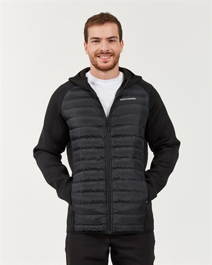 SKECHERS OUTERWEAR M JACKET SCOOBA-BLACK