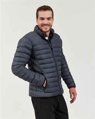 SKECHERS OUTERWEAR M LIGHWEIGHT JACKET-ANTHRACITE