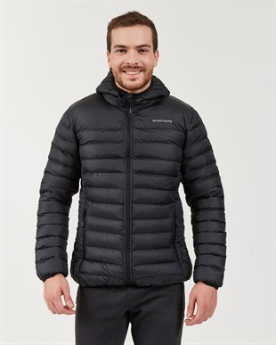 SKECHERS OUTERWEAR M PADDED LIGHTWEIGHT JACKET-BLACK
